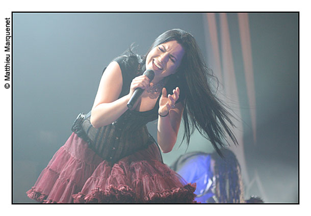 live : photo de concert de Evanescence à Paris, Zénith